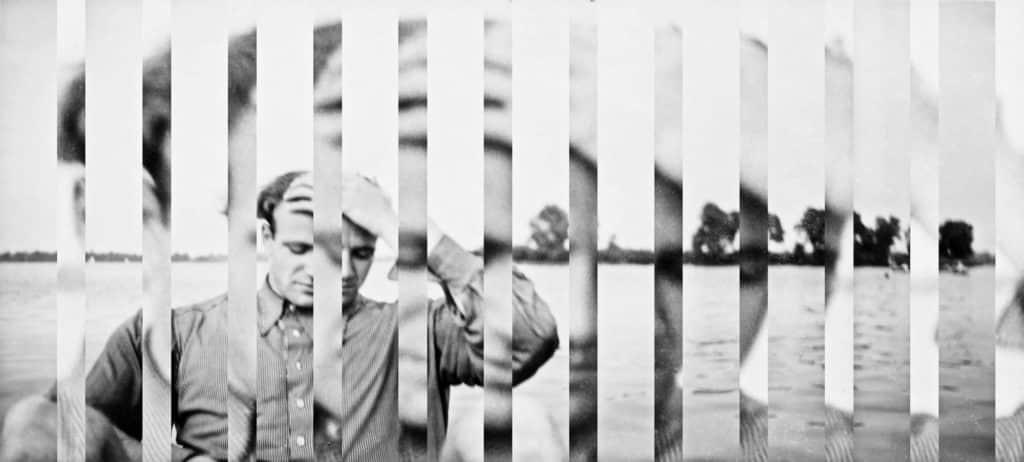 photographie homme noir et blanc edouard taufenbach